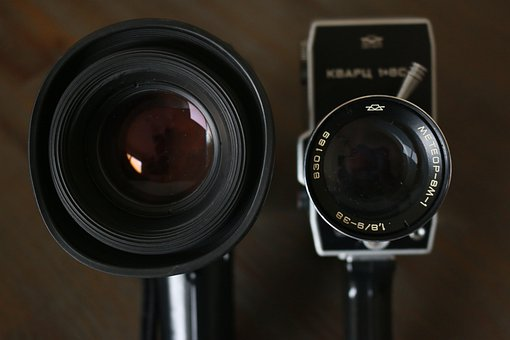 Cine Camera, Movie Cam, Motion Pictures, Lens, Camera
