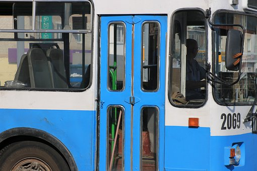 Trolley Bus, Transport, City, Russia, Bryansk, Traffic