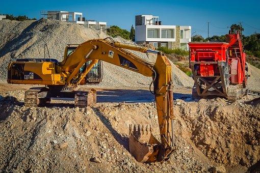 Digger, Crusher, Heavy Machine, Equipment, Construction