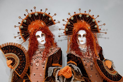 Mask, Venice, Carneval, Masks, Costume, Mysterious