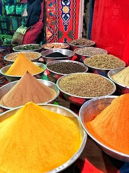 Spices, Africa, Egypt, Colors