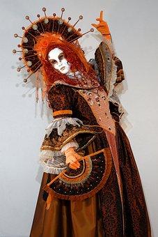 Mask, Venice, Carneval, Panel, Eyes, Mysterious