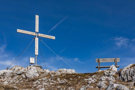 Ferlach, Great, Sky, Summit, Cross, Blue, Carinthia