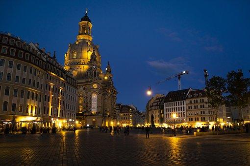 Dresden, Frauenkirche, Germany, Church, Saxony