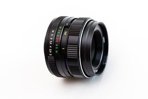 Lens, Helios-44m-4, Retro, Optics, Old, Rarity
