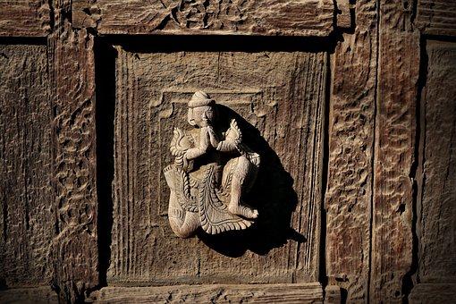 Wood Carving, Monastery Of Bagaya