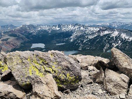 Rocks, Rocky, Mountains, California, Sierra Nevada