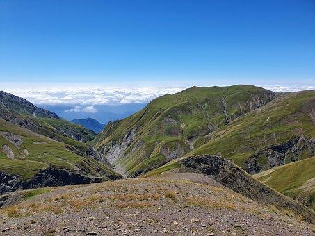 Azerbaijan, Caucasus Mountains, Trekking, Mountains