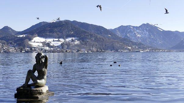 Tegernsee, Bavaria, Nature, Mountains, Lake, Landscape