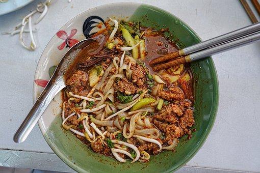 Eat, Asia, Soup, Noodle Soup, Tureen