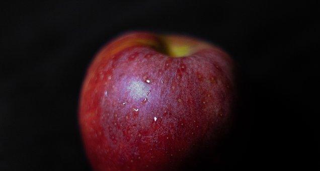 Apple, Closeup, Fresh, Fruit, Healthy, Red, Organic