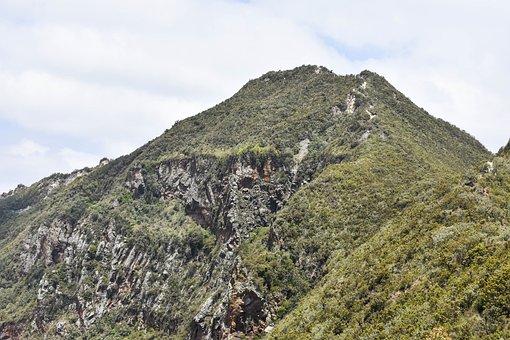Mount, Peak, Kenya, Mountain