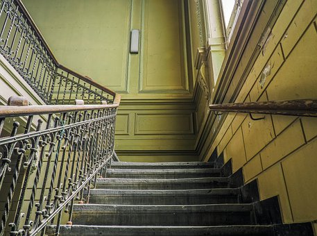 Lost Places, Stairs, Pforphoto, Building
