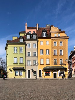 Warsaw, Old, Poland, Architecture