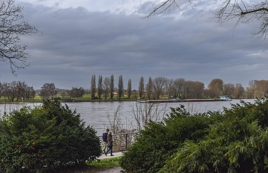 Landscape, River, Nature, Water, Scenic