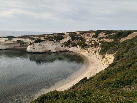 Sea, Sardinia, Beach, Costa, Water, Landscape, Rock