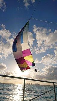 Play, Sailing, Sea, Water Sports, Sail Boat, Sail