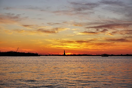 Statue Of Liberty, Ellis Island, Nyc, Monument