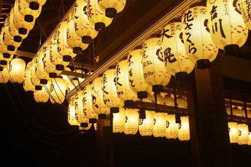 Latern, Light, Kyoto, Japan, Temple
