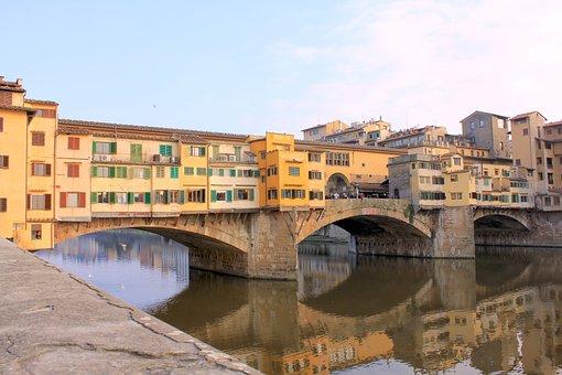 Florence, Italy, Tourism, Ponte Vecchio, Europe