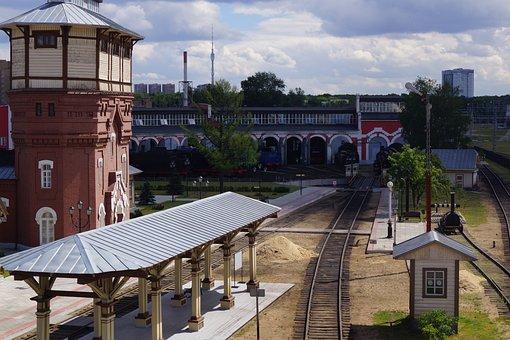 Railway, Travel, Wander, Move, Push