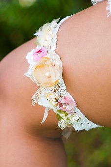 Bride, Garter, Clothing, Band, Leg, Bridal, Wedding