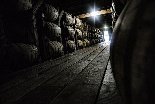 Barrels, Kentucky, Distillery, Bourbon, Whiskey, Usa