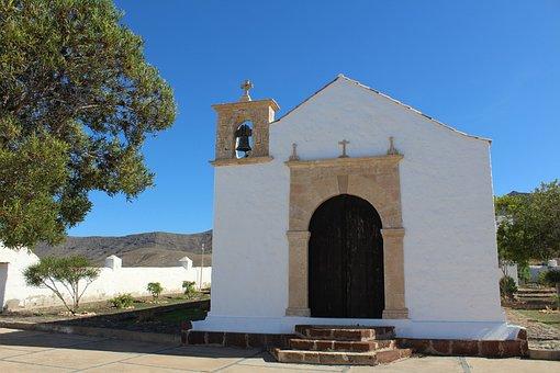 Church, Chapel, Fuerteventura, Religion, Architecture