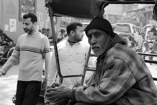 People, Street Photography, Black And White