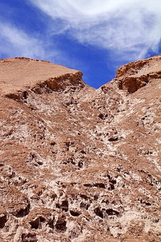 Chile, Atacama, Landscape, Desert