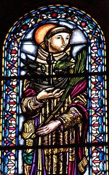 Stained Glass Window, Church, Window