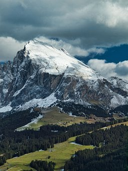 Seiser Alm, South Tyrol, Dolomites, Alm, Nature