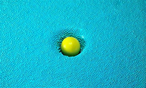 Pile, Texture, Ball, Sunk, Hh, Hamburgensien