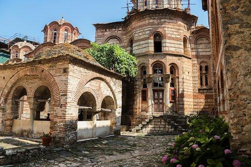 Hilandar, Serbian Monastery, Greek