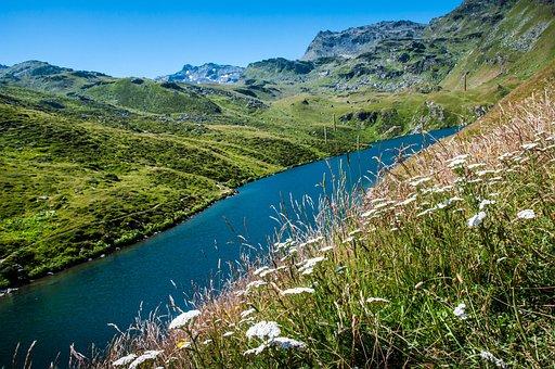 Mountain, Lake, Alps, Nature, Mountains, Alpine, Sky