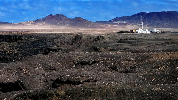 Canary Islands, Black Earth, Village, Loneliness