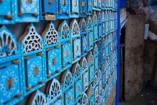 Magnet, Souvenir, Blue, National