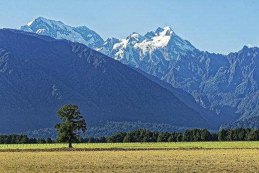 New Zealand, Aoraki Mount Cook, Aoraki