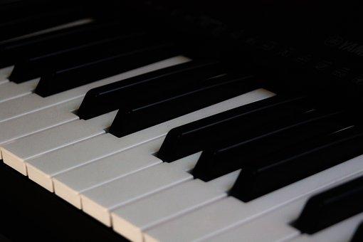 Piano, Music, Pattern, Keyboard