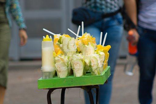 Mango, Sale, Itinerant, Fruit, Street