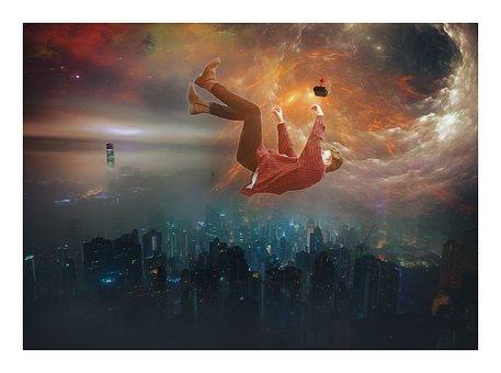 Fantasy, Scifi, Sci-fi, Abduction, Levitation, Space