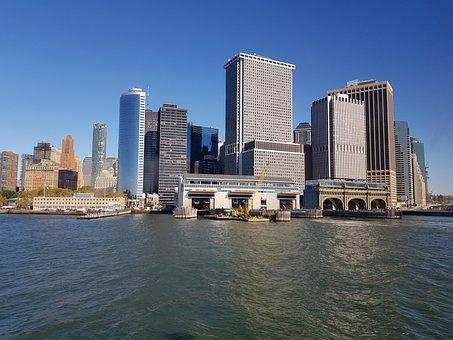 New York City, City Building, Usa, City, Skyscraper
