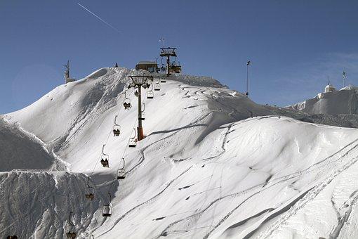 Slope, Snow, Ski, Mountains, Snowboarding, Winter