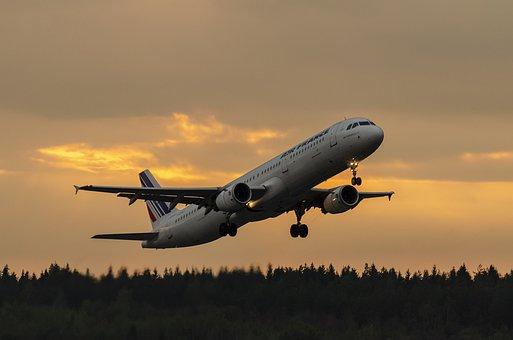 Stockholm-Arlanda, Aircraft, Evening