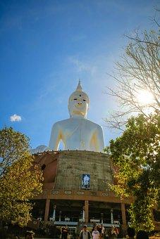 Buddha, Statue, Sun, Measure, Hourglass, Time