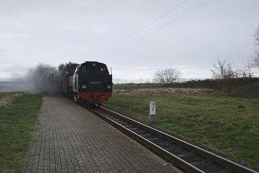 Technology, Industry, Railway, Steam Locomotive