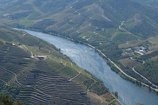 Porto, Portugal, Douro, River, Flow, Landscape, Tourist