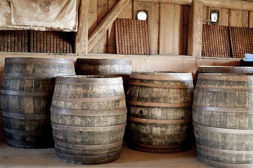 Barrel, Wooden Barrels, Wine Barrels, Wood, Most