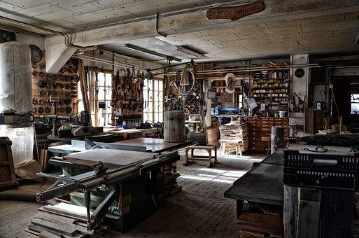 Workshop, Carpenter, Crafts, Artisan, Wood, Work, Tool