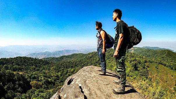 Adventure, Mountains, Outdoor, Travel